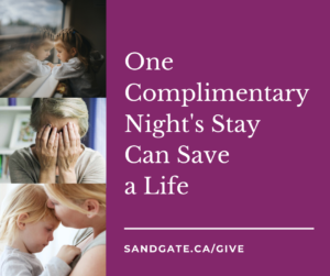 One Complimentary Night's Stay Can Save a Life